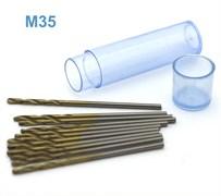 42673 Мини-сверло HSS M35 титановое покрытие d 1,4 мм 10 шт.