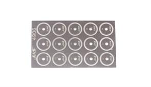 4906 Диск для ревитера  d 8,5 мм шаг 0,6 мм 15 шт.