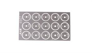 4907 Диск для ревитера  d 8,5 мм шаг 0,65 мм 15 шт.