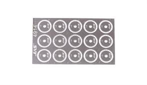 4914 Диск для ревитера  d 8,5 мм шаг 1,25 мм 15 шт.