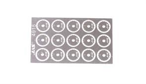 4915 Диск для ревитера  d 8,5 мм шаг 1,5 мм 15 шт.