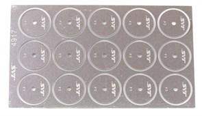 4917 Диск для ревитера d 15 мм шаг 0,4 мм 15 шт.