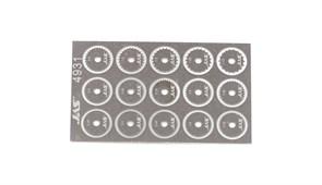 4931 Набор дисков для ревитера  d 8,5 мм шаг 0,35 - 1,5 мм 15 шт.