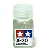 80020 Растворитель для эмали X-20 Enamel Thinner 10 мл Tamiya